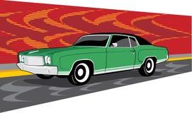 Grünes Chevrolet Monte Carlo Stockfotografie