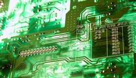 Grünes Chip Lizenzfreie Stockbilder