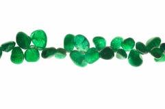 Grünes chrysoprase Lizenzfreie Stockbilder