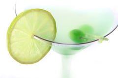Grünes coctail stockfotografie
