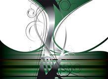 Grünes Durcheinander Stockfoto