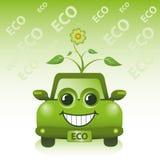 Grünes Eco Auto Lizenzfreie Stockfotografie