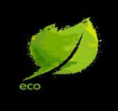 Grünes eco freundlicher Hintergrund Lizenzfreies Stockfoto