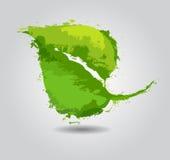 Grünes eco freundlicher Hintergrund Lizenzfreie Stockbilder