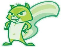 Grünes Eichhörnchen stock abbildung