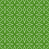 Grünes ethnisches Muster Stockbild