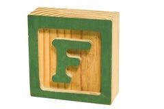 Grünes F Lizenzfreie Stockbilder