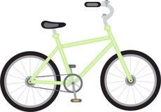 Grünes Fahrrad Lizenzfreies Stockfoto