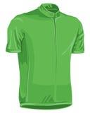Grünes Fahrrad Jersey Stockbild