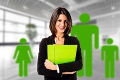 Grünes Familienunternehmen Lizenzfreies Stockfoto