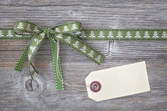 Grünes Farbband lizenzfreie stockbilder