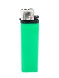 Grünes Feuerzeug Lizenzfreie Stockfotografie