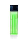 Grünes Feuerzeug Stockbilder