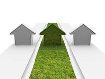 Grünes Gebäude Lizenzfreie Stockbilder