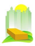 Grünes Gebäude Lizenzfreies Stockfoto