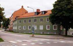 Grünes Gebäude Stockfotografie