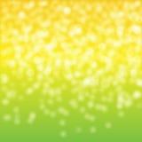 Grünes gelbes Licht Stockbild