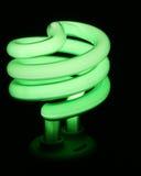 Grünes Geld sparen Leuchte Lizenzfreie Stockfotografie