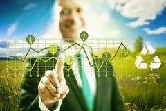 Grünes Geschäft Stockbild