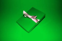 Grünes Geschenk Lizenzfreie Stockfotos