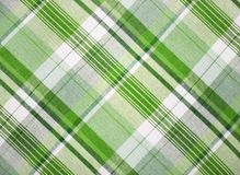 Grünes Gewebe Stockfoto