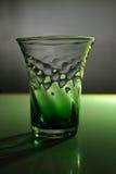 Grünes Glas-noch Leben Lizenzfreie Stockfotografie