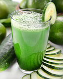 Grünes Glatt machen lizenzfreie stockfotografie