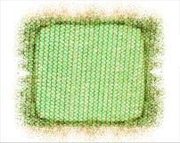 Grünes Goldnetz Lizenzfreies Stockbild