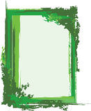 Grünes grunge Feld Stockfotografie