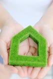 Grünes Haus Lizenzfreies Stockfoto