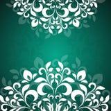 Grünes Hintergrundmuster der Blumenblätter Lizenzfreie Stockfotos