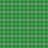 Grünes irisches abstraktes Textilnahtloser Hintergrund Stockfotografie