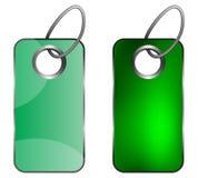 Grünes keychain Lizenzfreie Stockfotografie