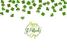Grünes Klee St. Patrick Day Lizenzfreie Stockfotografie