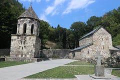 Grünes Kloster Chitakhevi St George stockbild