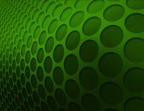 Grünes Kreismuster Lizenzfreies Stockbild