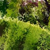 Grünes Krumengewebe mögen Hintergrund lizenzfreie abbildung