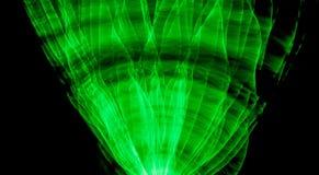 Grünes Licht-Malerei Stockfoto