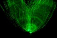 Grünes Licht-Malerei Lizenzfreie Stockfotografie
