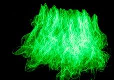 Grünes Licht-Malerei Stockfotos