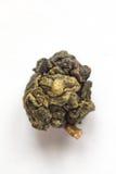Grünes lokalisiertes Makro des Tees Oolong Stockfoto