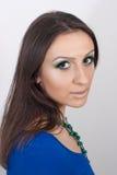 Grünes Make-up Stockfotos