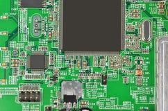 Grünes Modemmotherboard lizenzfreies stockfoto
