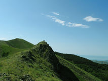 Grünes mountain_2 Lizenzfreie Stockfotografie