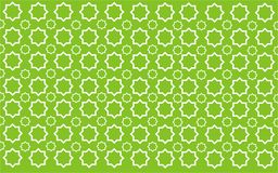 Grünes Muster des Sternes Lizenzfreies Stockbild