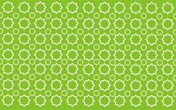 Grünes Muster des Sternes Stock Abbildung