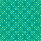 Grünes nahtloses geometrisches Muster Stockbilder