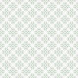 Grünes nahtloses Muster mit geometrische Formen lizenzfreie stockfotos