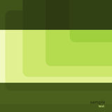 Grünes Quadrat vektor abbildung
