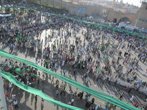 Grünes Quadrat - (Tripoli, Libyen) Stockfotos